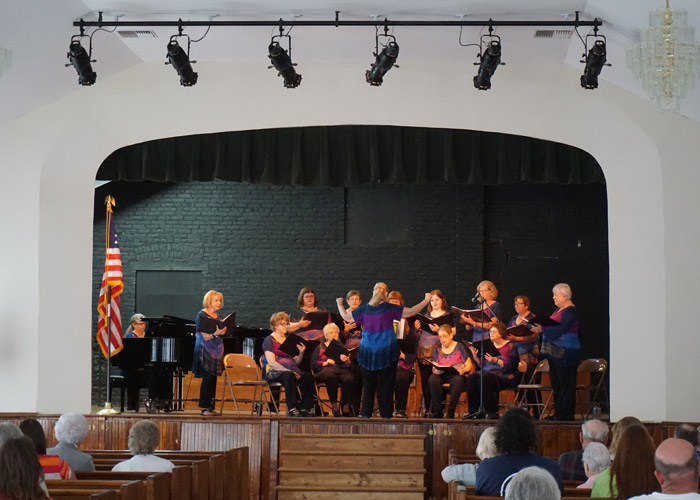 Bel Canto on Harrington Opera House Stage June 25, 2016